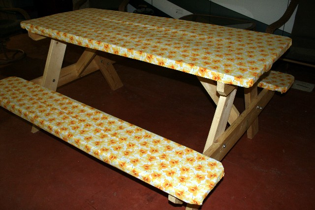 picnic table coverups