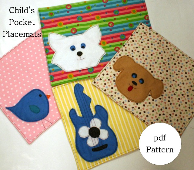 Child's Pocket Placemats