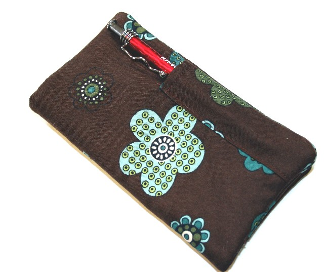 Checkbook Cover with Pen Pocket