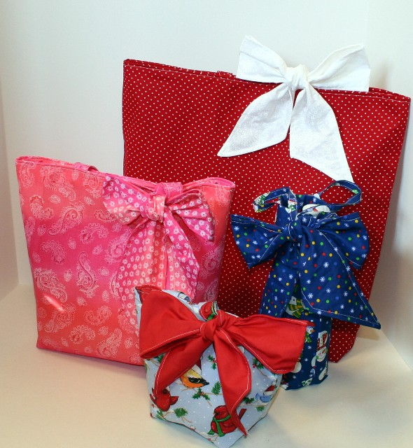 Gift Bags with Bows