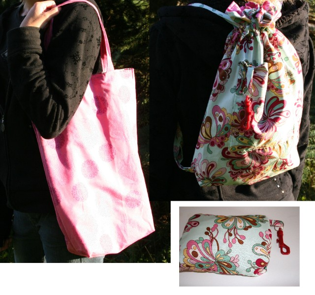 Backpack and tote 3
