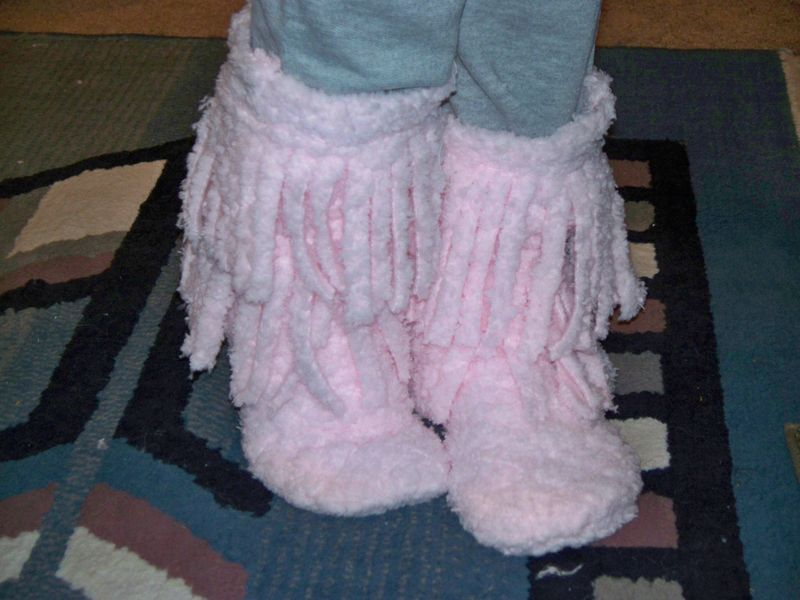 Moccasin Slipper Boots