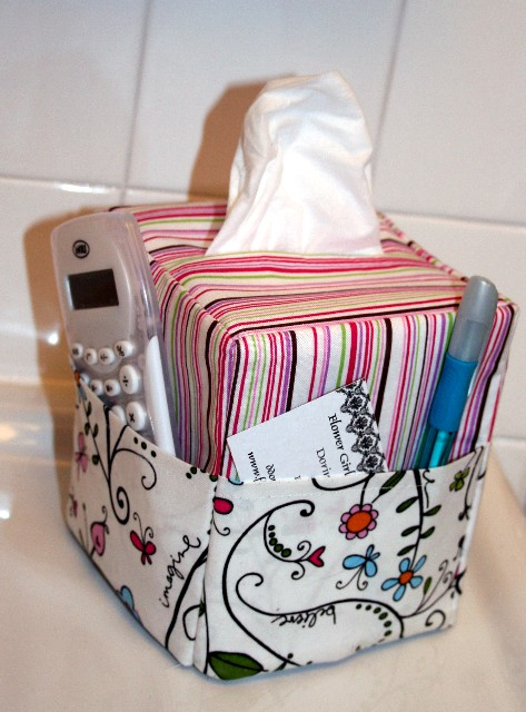 Desk Tissue Caddy